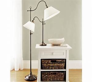adair floor lamp pottery barn With white floor lamp pottery barn