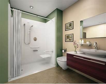 Shower Walk Bathroom Door Showers Curtain Designs