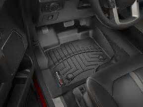 weathertech 2017 ford raptor laser measured floor mat set
