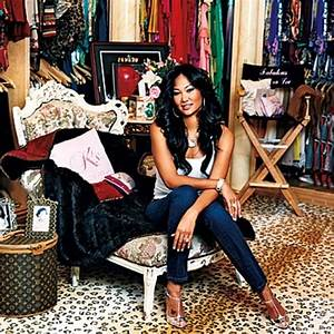 Kimora Lee Simmons' dressing room | Celebrity Dressing ...