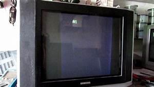 165    Tv Samsung De 21 Polegadas Com Imagem Na Metade Da