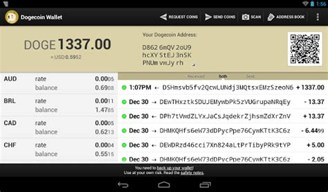 dogecoin wallet  making  receiving payments  doge