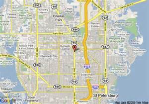Saint Petersburg FL Street Map
