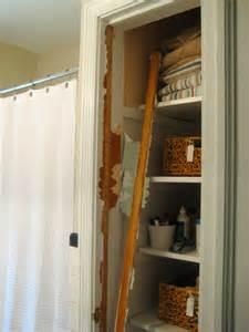 bathroom linen closet ideas take the door your bathroom linen closet for a chic and open feeling