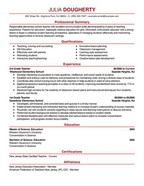 free resume exles sles for all jobseekers