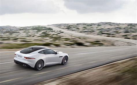 2018 Jaguar F Type R Coupe Polaris White Motion 1
