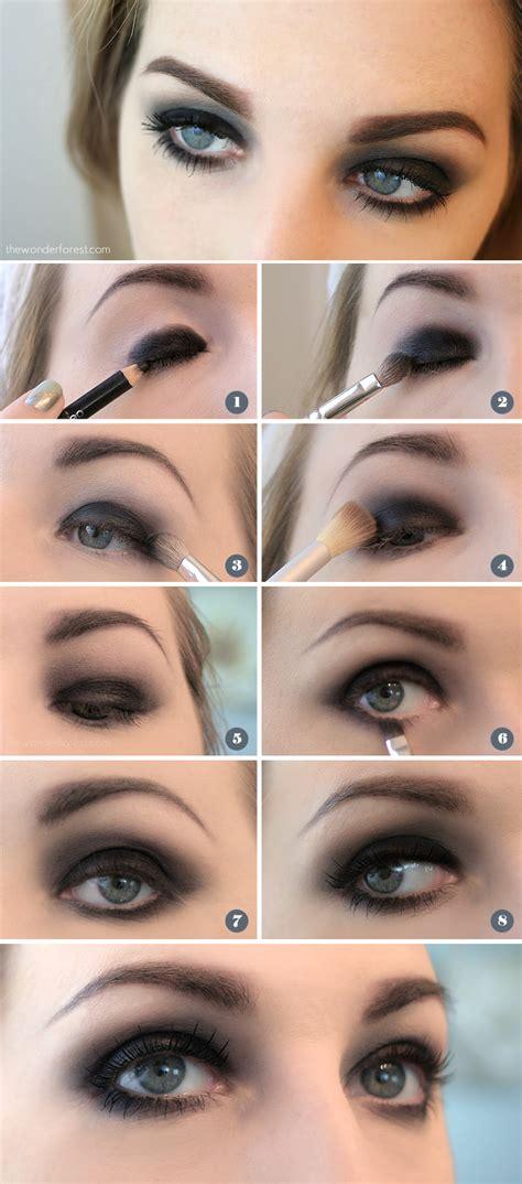 easy black smokey eye tutorial  forest design
