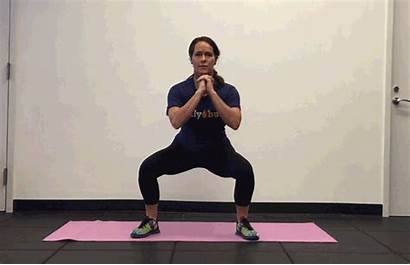Hips Thighs Butt Exercises Lower Squat Step