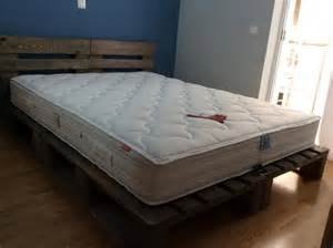 rustic king size pallet bed pallet furniture diy