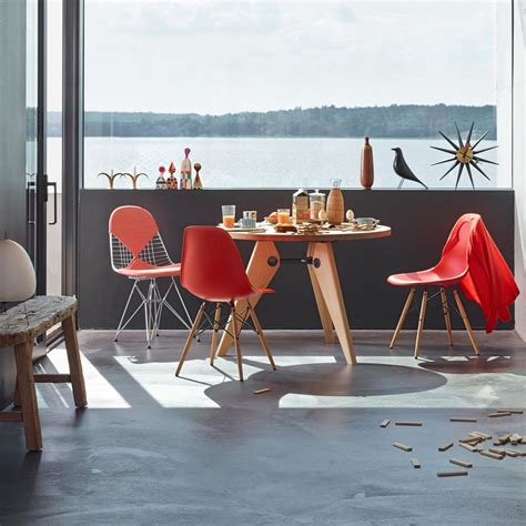 chaise dsw vitra eames plastic side chair dsw connox shop