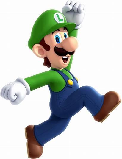 Mario Luigi Transparent Super Run Nintendo Render