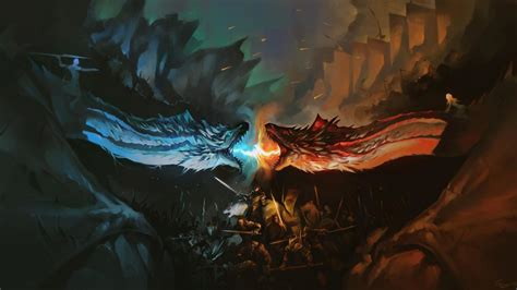ice dragon game  thrones wallpapers top  ice