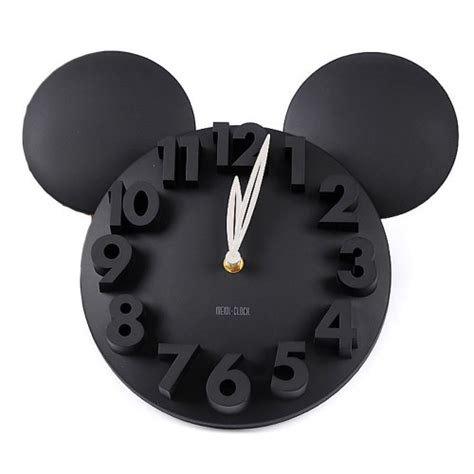 Mickey Mouse Bathroom Decor by Mickey Mouse Wall Clock Mickey Fix