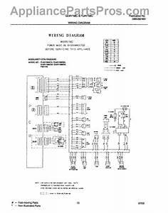 Parts For Frigidaire Glmv168cs1  Wiring Diagram Parts