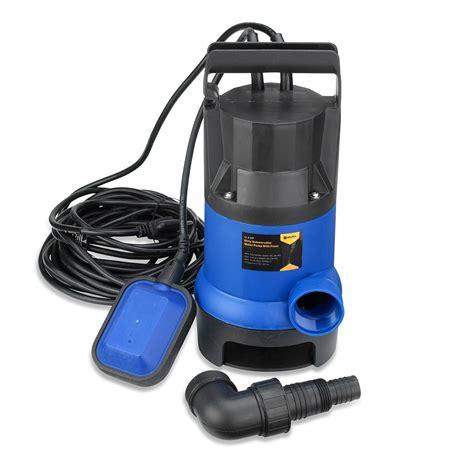 Submersible Water Pump  12 Hp 2000gph Clean Clear Dirty