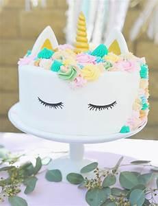 Bohemian Unicorn 1st Birthday - Smash Cake