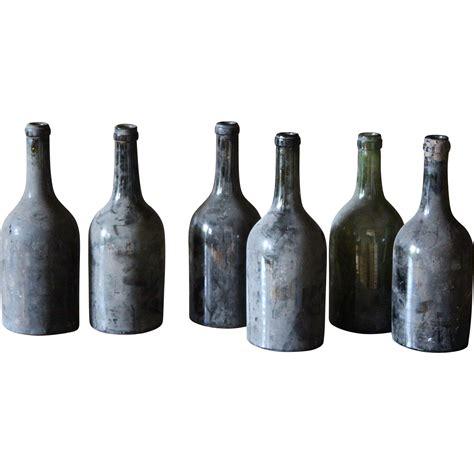 wine bottle l antique burgundy wine bottles 19th century glass