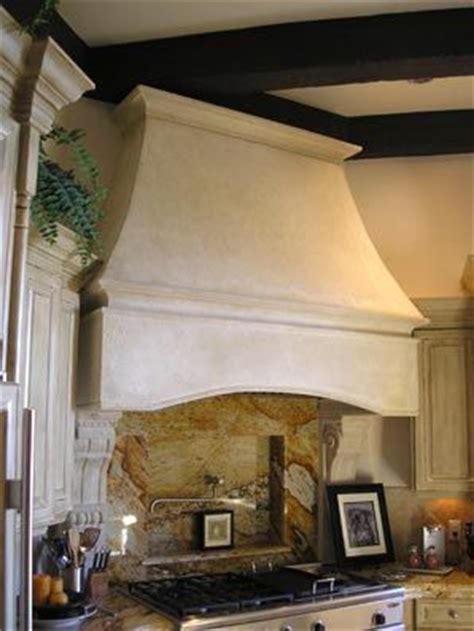 nice simple design  tuscan range hood tuscan stone