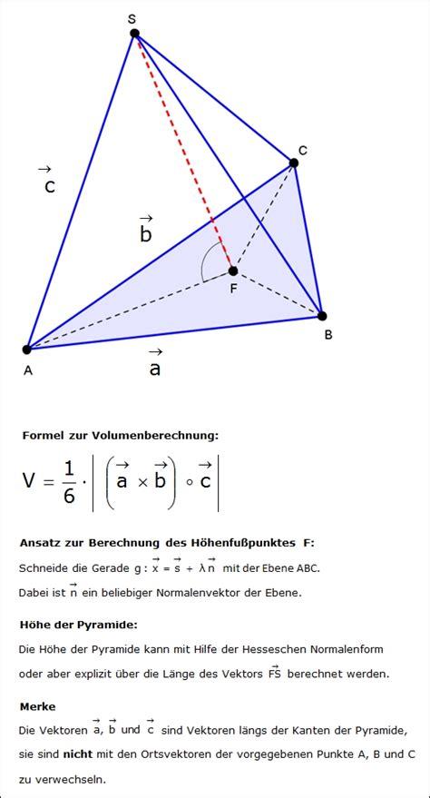 pyramide mit dreieckiger grundflaeche wwwmayer ffmde