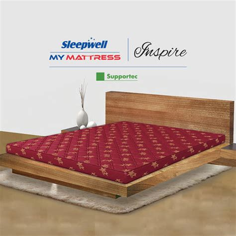 sleepwell bed mattress sleepwell inspire coir mattress
