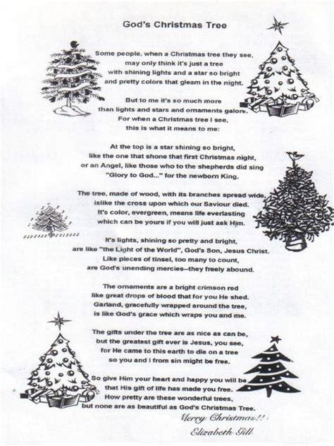 christmas tree poem christian merry christmas and happy
