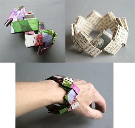 sommer receycling armband handmade kultur