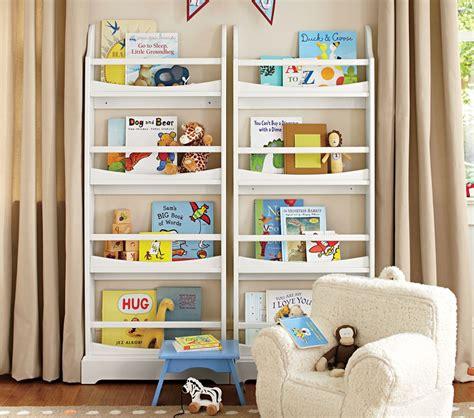 children s book rack 4 shelf bookrack pottery barn