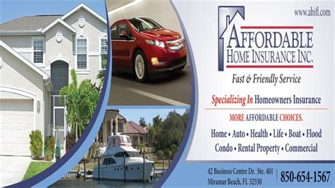 If you need affordable home insurance with quotes in under 60 seconds and approvals in under 5 minutes, there is no better option. Affordable Home Insurance, Inc