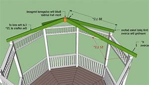Octagon Gazebo Roof Plans - Pergola Gazebo Ideas
