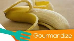 How to Peel a Banana the Right Way! - Gourmandize - YouTube