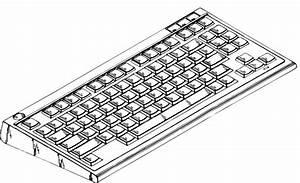Computer Keyboard clip art Free vector in Open office ...