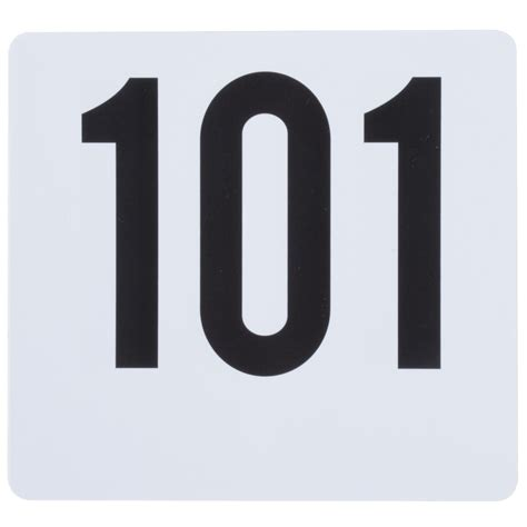Table Number Card Set  101 To 150