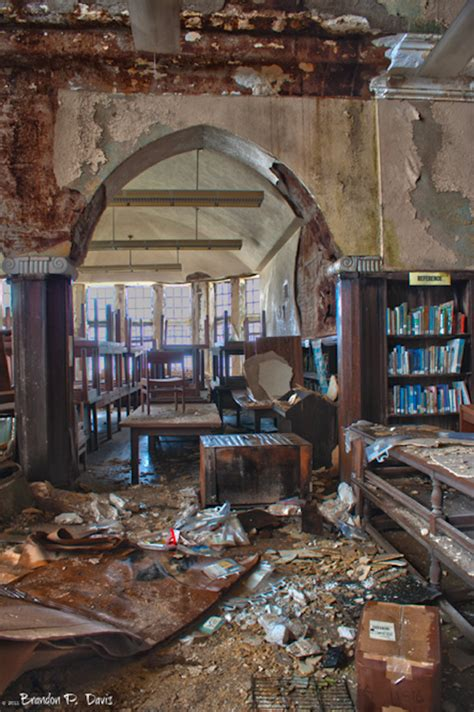 heartbreaking  show  abandoned library