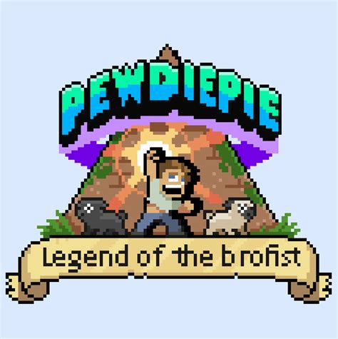 pewdiepies video game  officially legend   brofist