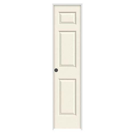 home depot hollow door jeld wen 18 in x 80 in molded textured 6 panel