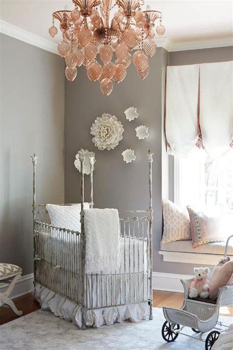 pink chandelier for nursery shelves crib transitional nursery cape 27