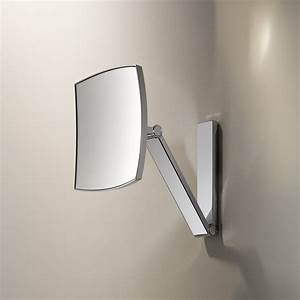 keuco ilook move square cosmetic mirror rogerseller With miroir salle de bain grossissant mural