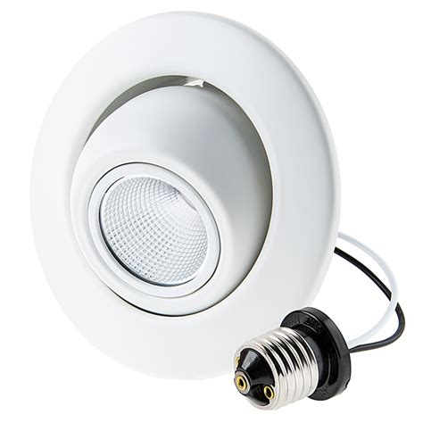 led retrofit can lights led can light retrofit for 4 quot fixtures 10w led eyeball