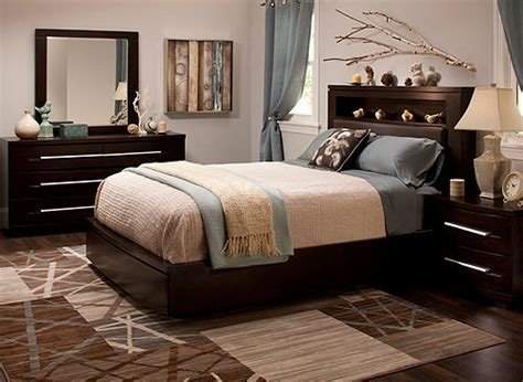 wall street  pc king platform bedroom set  storage bed