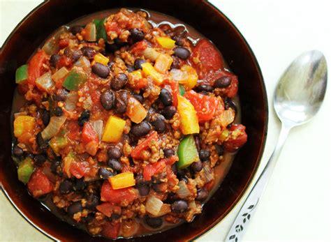 chili beans recipe black bean chili recipe live learn love eat