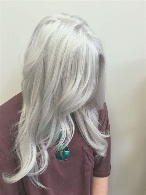 25 Best Ideas About Silver Hair Colors On Pinterest