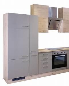 Küchenzeile 310 Cm Mit Elektrogeräten : k chenzeile riva k chenblock mit elektroger ten 310 cm bronze metallic ebay ~ Bigdaddyawards.com Haus und Dekorationen