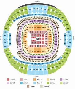 Freedom Hall Concert Seating Chart Wwe Mercedes Benz Superdome New Orleans Tickets