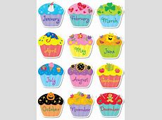 Cupcake clipart monthly Pencil and in color cupcake