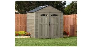 rubbermaid roughneck xl 7 x7 325 cu ft outdoor storage building shed 5h80 ebay