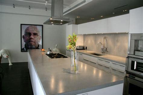 Concrete Kitchen Countertops  Modern  Kitchen