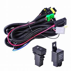 For H11 Fog Light Ford Focus Acura Nissan Wiring Harness