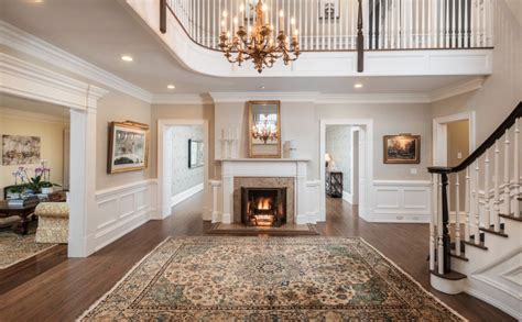 georgian colonial style mansion in new canaan connecticut