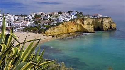 Portugal Beach Wallpapers Cape Praia Coast Verde