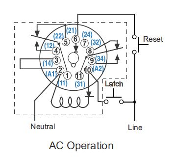 8 Pin Relay Configuration Diagram by Cr4 Thread Wiring Octal 11 Pin Latching Relay